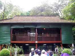 "Stilt house of ""Uncle Ho"" in Hanoi"