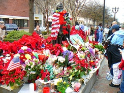 James Brown memorial in Augusta, Georgia