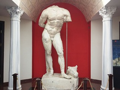Statue of Heracles in Kocaeli Museum