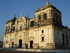 The León Cathedral, one of Nicaragua's World Heritage Sites.