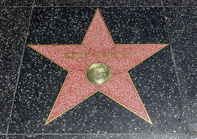 Photo of Gary Cooper's star on the Hollywood Walk of Fame