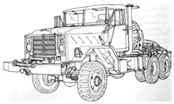 M932 Tractor Truck
