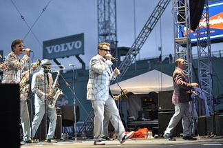 The Bosstones playing Fenway Park in 2011