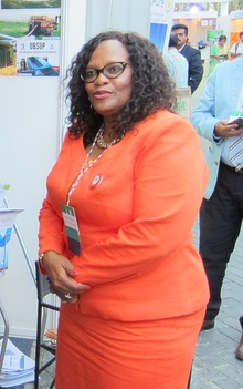 Ms. Nomvula Mokonyane, Minister of Water and Sanitation, South Africa (33142724886) (cropped).jpg