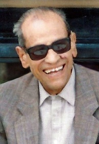 Naguib Mahfouz, the first Arabic-language writer to win the Nobel Prize in Literature.