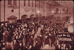 Union Station in St. Louis was the world's largest and busiest train station when it opened in 1894.