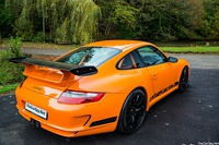 Porsche 997 GT3 RS (pre-facelift) rear.
