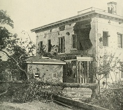 The Potter (or Ponder) House in Atlanta housed Confederate sharpshooters until Union artillery made a special target of it
