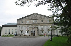 Rideau Hall, the official residence in Ottawa of the governor general