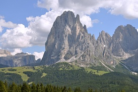 The Dolomites (Italy) are a UNESCO World Heritage Site.