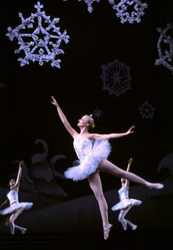 The Snowdance scene from The Nutcracker ballet, composed by Pyotr Ilyich Tchaikovsky