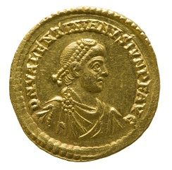Solidus of Valentinian II