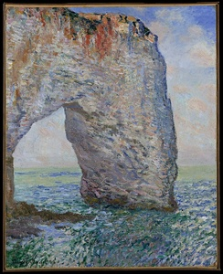 Claude Monet's The Manneporte near Étretat, owned by Bliss