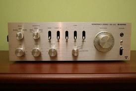 Audio stereo power amplifier made by Unitra
