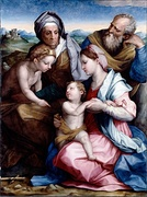 Holy Family, with Andrea Sarto