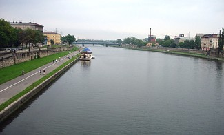 Vistula River in the vicinity of Płock, Poland