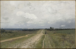 "In Isaak Levitan's well-known ""mood landscape"", the Vladimirka takes on a symbolic meaning."