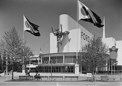 The Ford Pavilion at the 1939 New York World's Fair