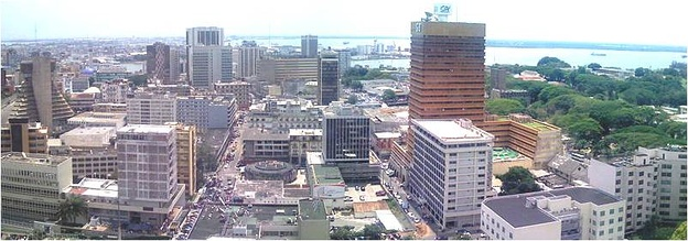 Abidjan is the Ivory Coast's largest city and its economic capital.