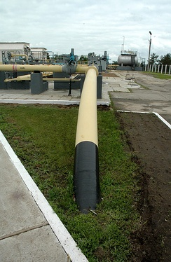 The world's longest ammonia pipeline from Russia to Ukraine