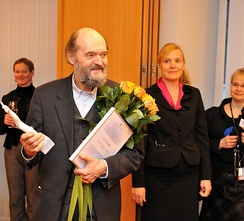 Pärt at the Estonian Foreign Ministry in 2011