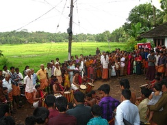 Community events are frequent in Malabar