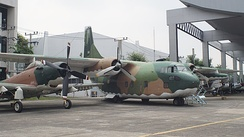 C-123B displays at the Royal Thai Air Force Museum