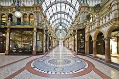 Victoria Quarter, opened in 1900