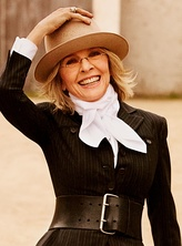 Diane Keaton won twice for her roles in Annie Hall (1977) and Something's Gotta Give (2003)
