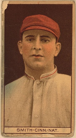 Frank Smith was the Reds' Opening Day starting pitcher in 1912.