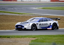 One of Hexis AMR's entries in the 2010 FIA GT1 World Championship