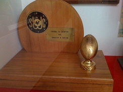 Houston's 1976 Southwest Conference championship trophy