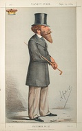 The Duke of Abercorn by Carlo Pellegrini in the 25 September 1869 issue