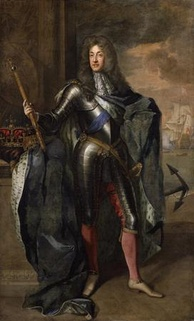 James II & VII, King of England, Scotland and Ireland, by Sir Godfrey Kneller. National Portrait Gallery, London.