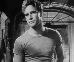 The performance of Marlon Brando (shown here much earlier in his career) as Colonel Walter E. Kurtz was critically acclaimed.
