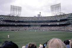 A Twins game in 1981.