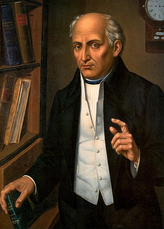 Miguel Hidalgo y Costilla was the first leader of the Mexican War of Independence.