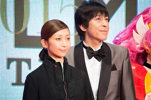 Every Little Thing at the Tokyo International Film Festival 2015 From left: Kaori Mochida and Ichiro Ito.