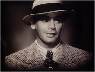 Paul Muni in the trailer for Scarface