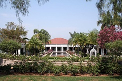 Richard Nixon's Presidential Library and Museum located in Yorba Linda, California