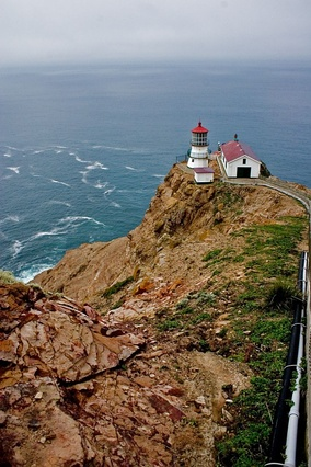 Point Reyes Lighthouse built in 1870