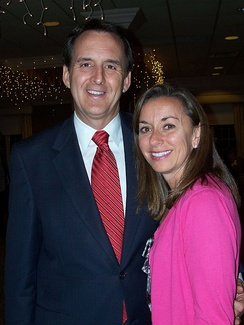 Tim Pawlenty with his wife, Mary