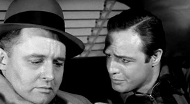 Steiger with Marlon Brando in On the Waterfront (1954)