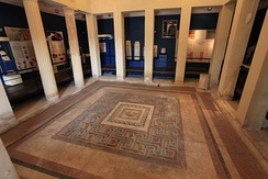 Roman mosaics in the Domvs Romana of ancient Melite