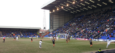 The Blades v Tranmere Rovers at Prenton Park in the 2012–13 season.