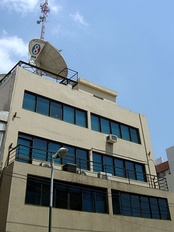 Channel 8 studios Tucumán.