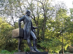 Statue of Tchaikovsky in Simferopol