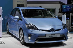 The Toyota Prius Plug-in Hybrid was launched in Japan and the U.S. in early 2012, and Europe by mid-2012.