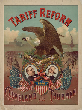 Tariff reform was the main issue of the election.