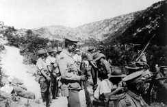 Troops from the 10th Battalion at Gallipoli, August 1915